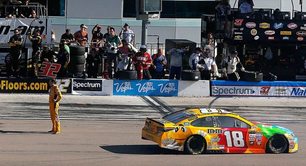 Kyle Busch Joey Logano Post Race Quotes From Vegas Official Site