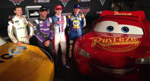 Drivers Thrilled To Be A Part Of Cars 3