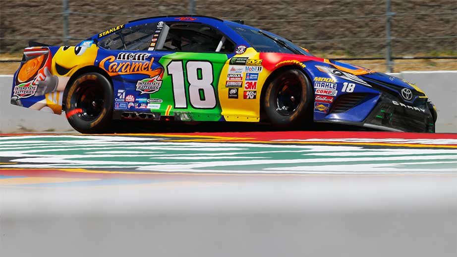 Kyle Busch post-race inspection: Lug nuts missing on No. 18 Toyota
