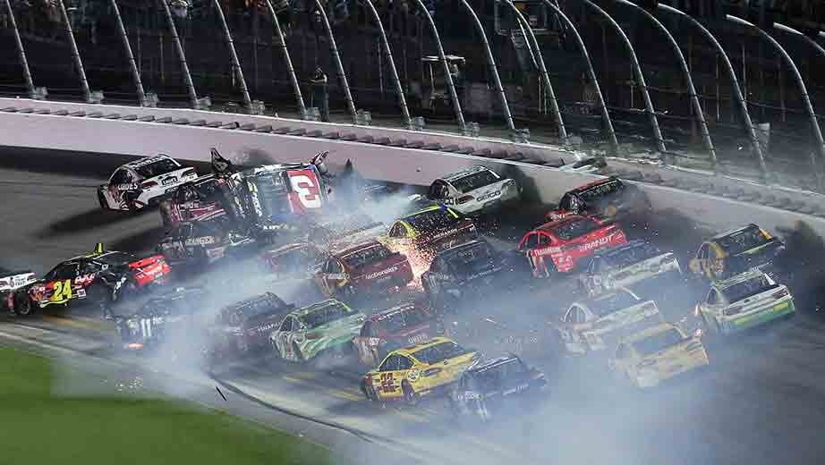Dillon walks away from scary wreck | Official Site Of NASCAR