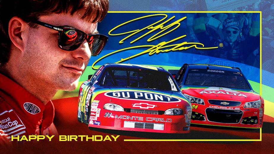 Toyota Official Site >> Four-Time turns 46: Happy Birthday Jeff Gordon   Official ...