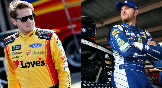 Landon Cassill Dale Earnhardt Jr.