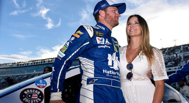 Dale Earnhardt Jr. and Amy Earnhardt