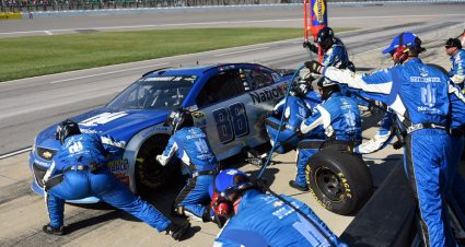 No. 88 crew chief Greg Ives fined, others receive warnings post-Kansas