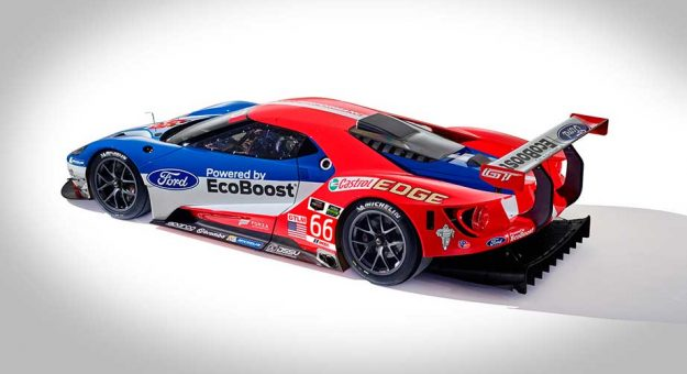 Ganassi Introduces New Ford Gt Sports Car Program Official Site Of Nascar