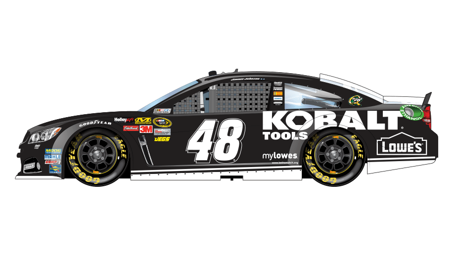Paint scheme preview: Las Vegas | Official Site Of NASCAR Nascar Top View