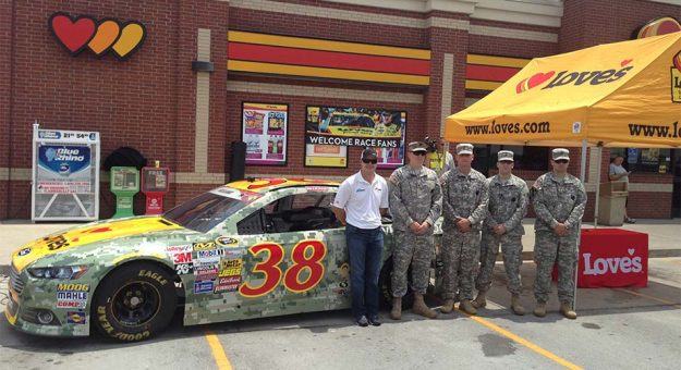 Gilliland, military unveil Daytona paint scheme | Official Site Of