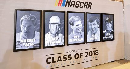 Legends, star power and fan appreciation highlight ninth annual NASCAR Hall of Fame weekend