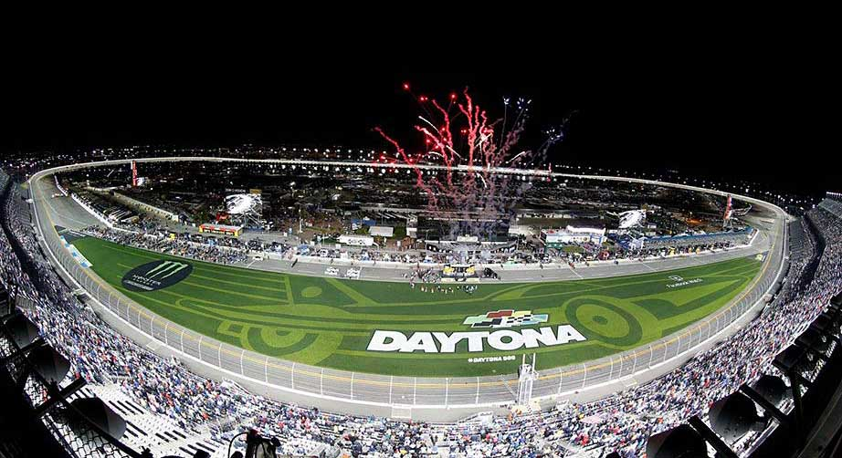'Happy accident' leads to Daytona grass infield look