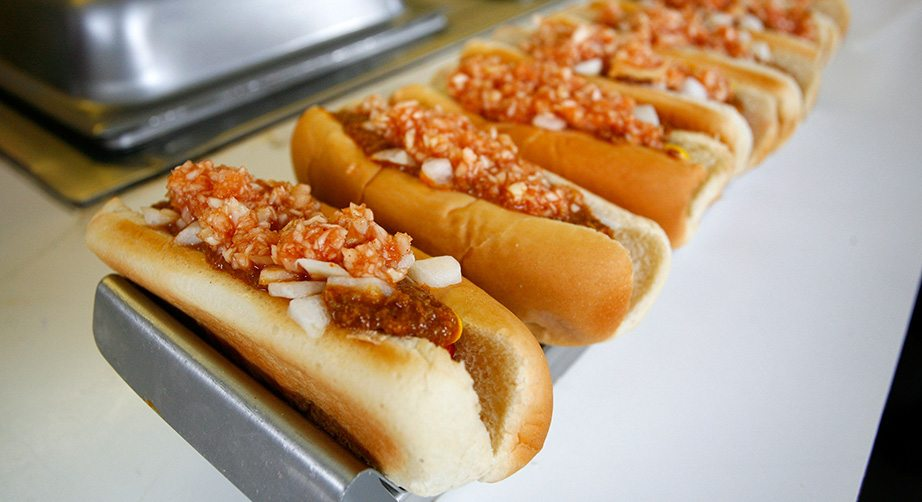 Where can you buy Jesse Jones hot dogs - answers.com