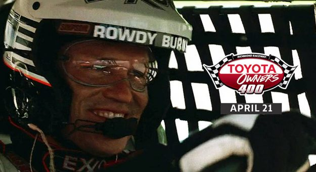 Days of Thunder' star named Richmond pace car driver