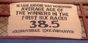 Kevin Harvick's tweet on young vs. old.