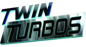 Logo for Twin Turbos TV show