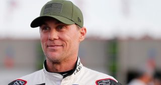 Kevin Harvick at Charlotte.