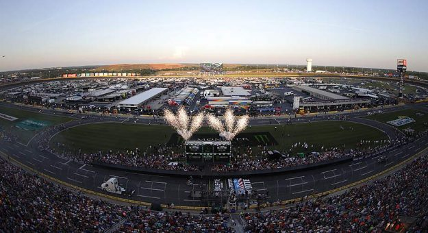 Pageantry aplenty from last season's Monster Energy NASCAR All-Star Race at Charlotte Motor Speedway.