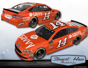 Clint Bowyer's new paint scheme