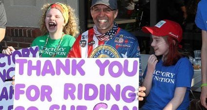 Kyle Petty Charity Ride raises $1.3 million for Victory Junction children's camp