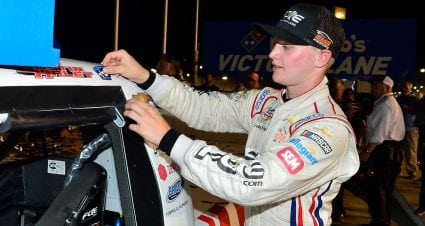 Justin Haley scores first Truck Series win at Gateway