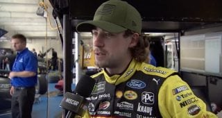 Blaney on Charlotte road course: 'Kind of an in between of Sonoma and Watkins Glen'
