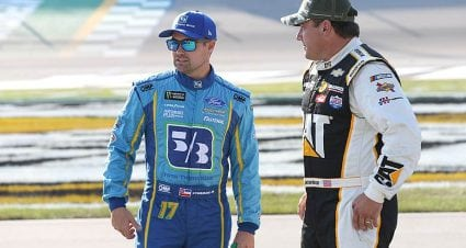 Stenhouse fires back, explains decision not to reach out to Kyle Busch
