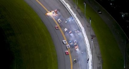 Late wreck brings out red flag in Xfinity race at Daytona