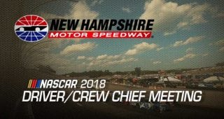 Driver meeting video: New Hampshire