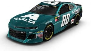 Axalta Philly Eagles Paint Scheme