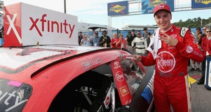 Bell holds off Keselowski for Xfinity win at New Hampshire