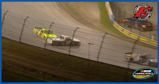 Major contact for reigning Eldora winner Matt Crafton