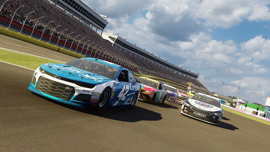 704Games Announces details, cover for NASCAR Heat 3, coming Sept. 7