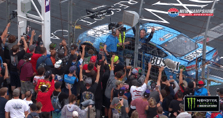 Harvick: 'Felt like that was my best opportunity to do what I had to do to win'