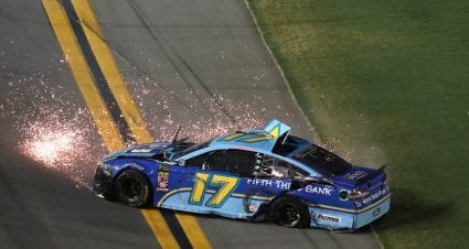 Stenhouse Jr. ruffles feathers — and fenders — at Daytona