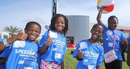 500 kids attend NASCAR Foundation's Speediatrics Fun Day at Daytona