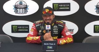 Truex Jr. calls winning an ESPY 'a huge honor'