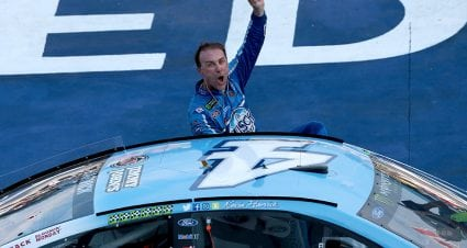 Harvick's unwavering focus still lets him enjoy special season