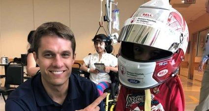 Ragan's commitment to children shines through at Shriners Hospital