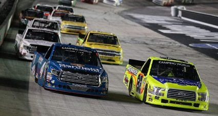 Matt Crafton seals final Truck Series playoff spot, aims for more