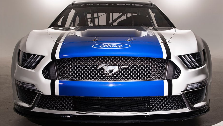 be73aaa7377 Ford unveils 2019 Mustang for NASCAR Cup Series
