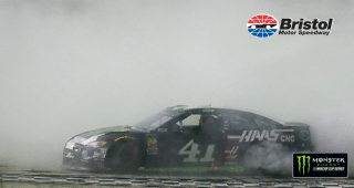 Kurt Busch burns it down at Bristol