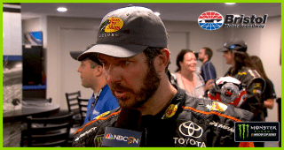 Truex: 'Sometimes you're the nice guy and get pushed out of the way'