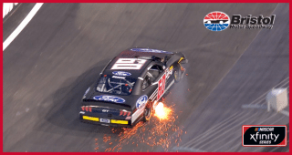 Briscoe's spin brings out sparks at Bristol
