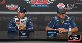 Larson: 'Going to be the Kyle, Kyle and Chris show at a lot of these places'