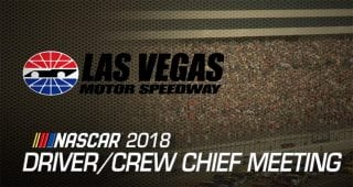 Watch: Driver meeting video for Las Vegas playoff race