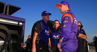 Will Denny Hamlin deliver in your Fantasy Live lineup at Richmond?