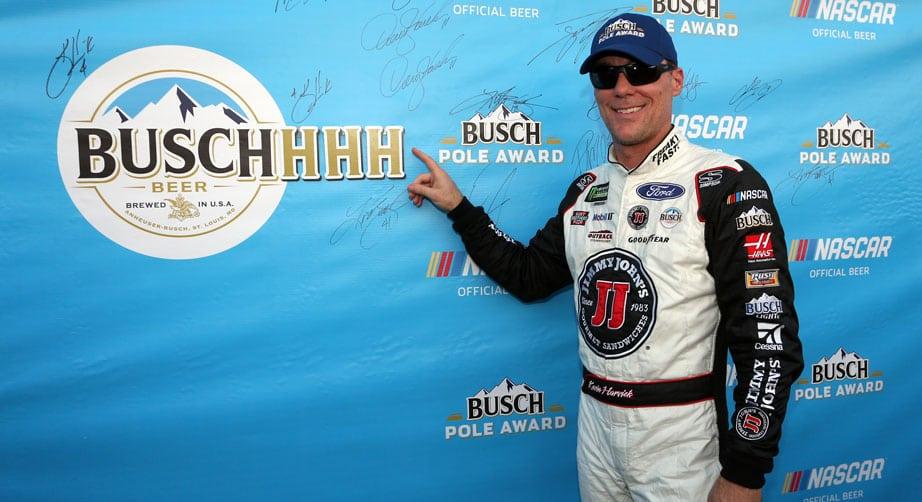Kevin Harvick wins Busch Pole at Richmond
