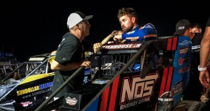 Stenhouse: 'There's really not much I probably wouldn't do to get in the playoffs'