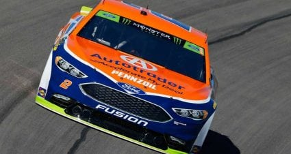 Brad Keselowski, Martin Truex Jr. win stages in Las Vegas playoff race