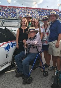 Longtime Ford owner and NASCAR fan Wallace Strader and his family attend the race at Darlington and meet the Wood Brothers and the No. 21 Ford team.