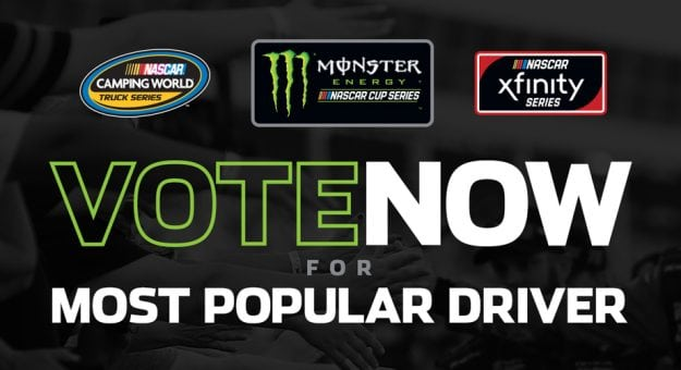 Vote Now image for Most Popular Driver
