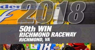 Kyle Busch hits 50 Monster Energy Cup wins